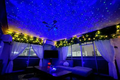 イルミネーションランプが綺麗♪ - アネックス新大阪 SpaceLikeの室内の写真