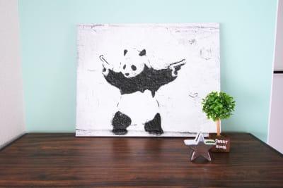 バンクシーパンダ♪ - アネックス新大阪 SpaceLikeの室内の写真
