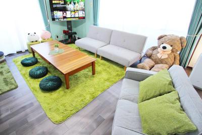 正方形に近い間取りなので広々としています♪ - アネックス新大阪 SpaceLikeの室内の写真