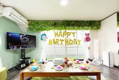 女子会やパーティースペースとしてもお勧め♪ - アネックス新大阪 SpaceLikeの室内の写真