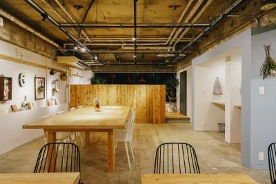 共有ラウンジ - GOODOFFICE六本木 会議室の室内の写真
