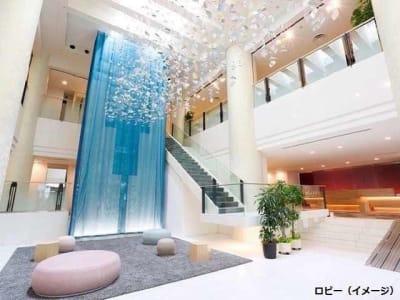 ロビー - テンザホテル札幌 テレワーク用客室の入口の写真