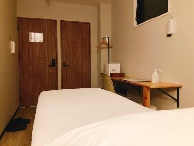 ORIGO Tenjin #1 客室サロンスペース(101号室)の室内の写真