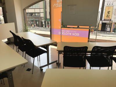 YouLucks-ゆらっくす  貸し会議室・施術ルームの室内の写真