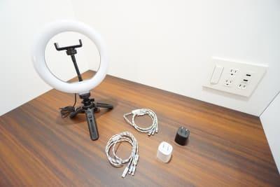 デニーズ幡ヶ谷マルチスペース 個室No.7の設備の写真