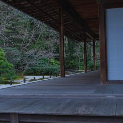 南禅寺エリアも徒歩圏内。集中したい時、リフレッシュしたいとき、庭園や寺社仏閣にふらっと訪れることができるので、感性をゆたかに刺激してくれます。 - mado プライベートワークスペースの室内の写真