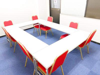 九段下神保町ビジネスセンター ミーティングルーム5Cの室内の写真