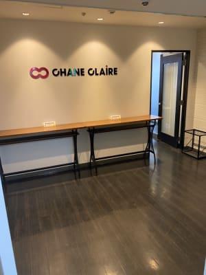 CHANECLAIREの表示が目印です。 - 大阪駅第2ビル/レンタルスペース 大阪2ビル/コワーキングスペースの入口の写真