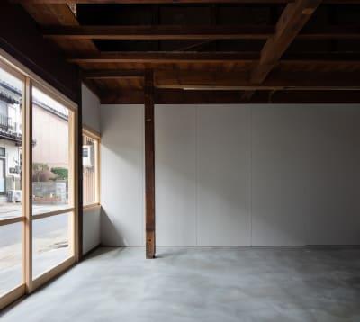 湯梨浜スタジオ 撮影スタジオギャラリーの入口の写真