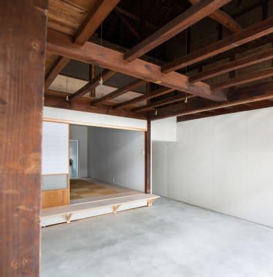 入り口から見える和室 - 湯梨浜スタジオ 撮影スタジオギャラリーの室内の写真