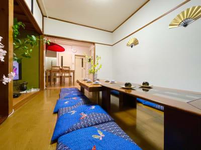 新宿/新大久保★美しい和風部屋★ 24時間🍃飲み会撮影パーティーの室内の写真