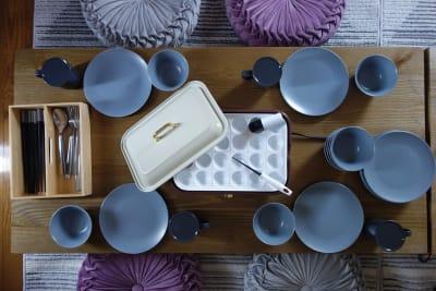 食器・カトラリー等充実しています。(食器・カトラリーは無料、たこ焼き器は有料オプションです) - レンタルスペースくまもと 上乃裏の設備の写真