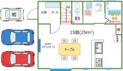 部屋の間取り図 - iSpace am/pmの室内の写真