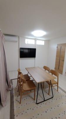 TV常設 SONY55インチLCD  - iSpace am/pmの室内の写真