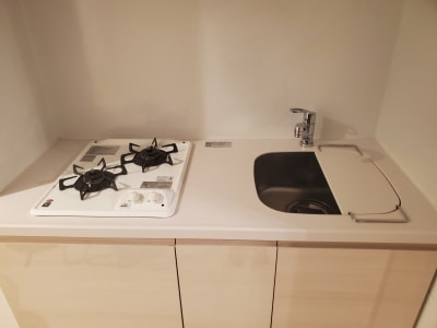 2口コンロのキッチン - プレシャス 多目的スペースの設備の写真