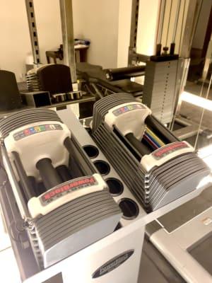 crebiq銀座 女性専用トレーニングスペースの設備の写真