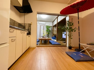 新大久保駅徒歩8分★和風スペース 24時間✨Wi-Fi💕パーティの室内の写真