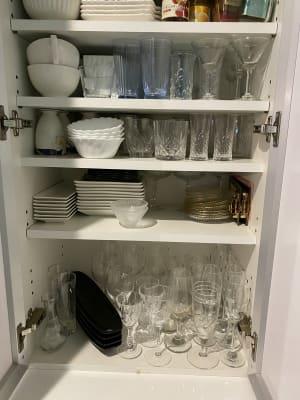 食器・ガラスコップ - 新大阪 ここから100 多目的コミニティスペースの室内の写真