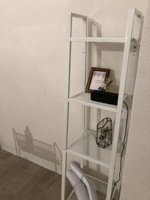 Bluetooth対応スピーカーです。 - reimei Kunitachi レンタルサロンの室内の写真