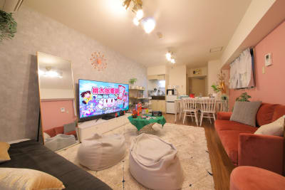 172_Ele渋谷道玄坂 キッチンスペースの室内の写真