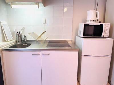 キッチンもご自由にご利用ください! - SMILE+Parfait大国町 パーティスペース、撮影の室内の写真