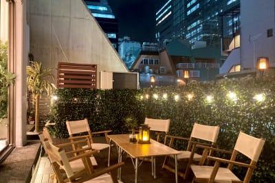 夜もオシャレな雰囲気です♪ - 渋谷ガーデンルーム4F 渋谷ガーデンルーム4Fの室内の写真