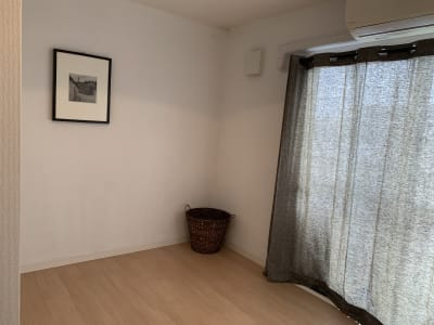 roomC 黒でまとまったシンプルなお部屋 - ArtSpaceMONNAKA 室内のみ(5LDK・100㎡)の室内の写真