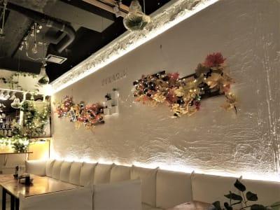 インスタ映えする空間♪ - 渋谷ピカリエ道玄坂本店の室内の写真