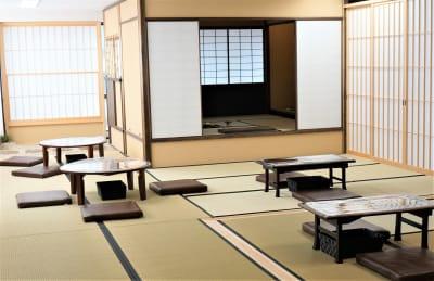 「浅草 茶禅」 和室大広間レンタルスペースの室内の写真