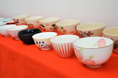 無料貸し出しの茶碗です。 - 「浅草 茶禅」 和室大広間レンタルスペースの設備の写真