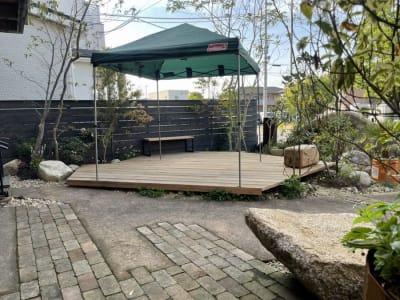 colemanのテント無料貸し出しOK  - SESSIONS GARDEN GARDEN(庭)の室内の写真