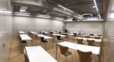 セミナールーム3(後方) - ルーフラッグ賃貸住宅未来展示場 3階セミナールーム③の室内の写真
