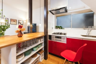Share Space 堀切 キッチン付きパーティールームの室内の写真