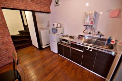 Share Space 堀切3 キッチン付きパーティールームの室内の写真