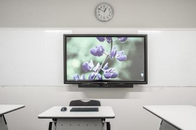 電子黒板兼大型モニター(55インチ) - 渋谷スペース  406の設備の写真