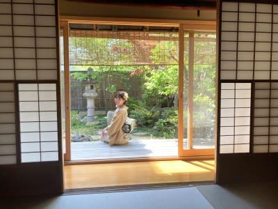縁側 - 幻 毘沙門 多目的〜デザイナーズ京町家〜 の室内の写真