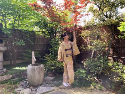 庭 - 幻 毘沙門 多目的〜デザイナーズ京町家〜 の室内の写真