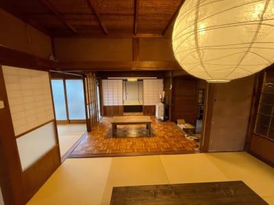 共有スペース - しょうずの宿 濱風 古民家多目的スペースの室内の写真