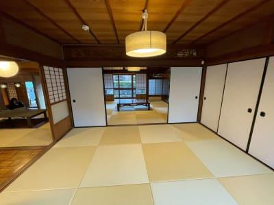 個室 - しょうずの宿 濱風 古民家多目的スペースの室内の写真