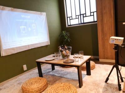 内観風景 - ゲストハウス神戸なでしこ屋 シアタールーム★元町駅徒歩3分の室内の写真