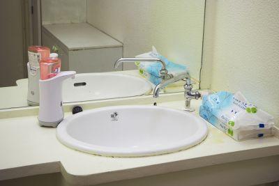 洗面所 - ドットカラーダンススタジオ Aスタジオの設備の写真