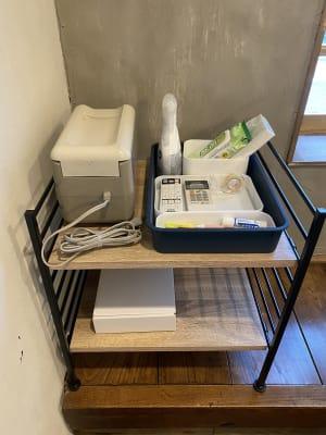 ご利用いただける備品はこちら - 不動産cafe 貸会議室 ミーティングルームの設備の写真