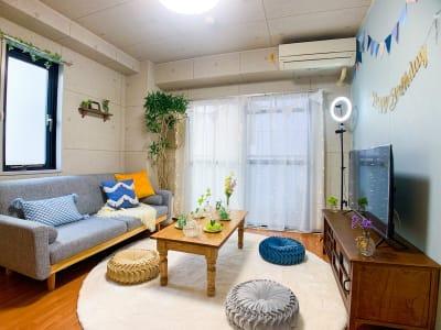 くつろぎ天王寺の室内の写真