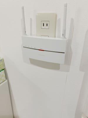 スペース内はwifiが使用できます。 - テレワークスペースD303 梅田テレワークスペースD303の設備の写真