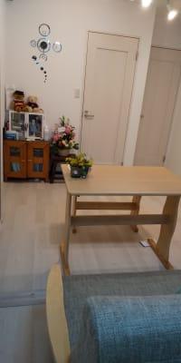 1階リビング前にトイレ・風呂・洗面台あり (風呂使用禁止) - 清香 レンタルサロン・多目的スペースの設備の写真