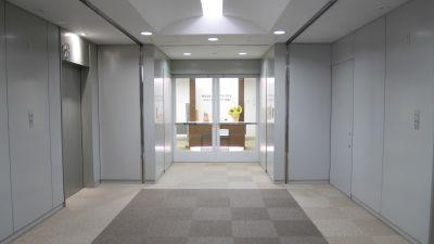高田馬場セミナールーム Bルームの入口の写真