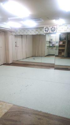 フラメンコスタジオマリ池袋の室内の写真