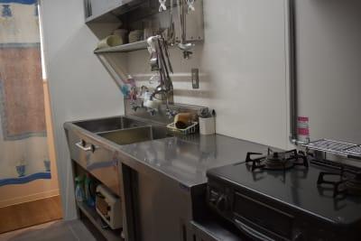 キッチン - シェアースペース アウトサイダー レンタルスペース(防音室)の室内の写真