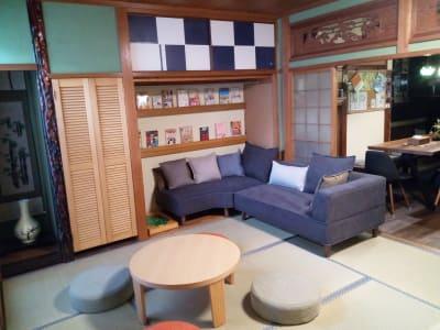 和室でのんびりくつろげます! - 花鈴京都 琴音 お洒落カフェ風ダイニングが大人気の室内の写真