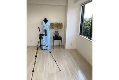 アパレル撮影イメージ - 白金台徒歩5分 貸しスペース ワンフロア利用 5階の室内の写真